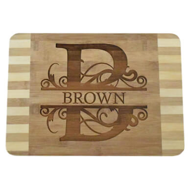Brew City Engraving – Custom Personalized Engraved Bamboo Cutting Board
