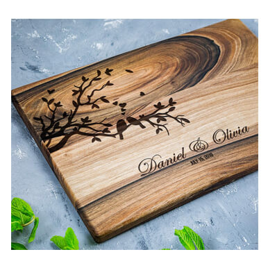 TheHrdwood Personalized Cutting Boards